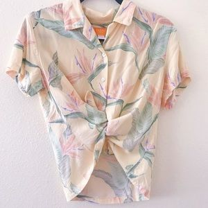 Sunny Aloha Shirt
